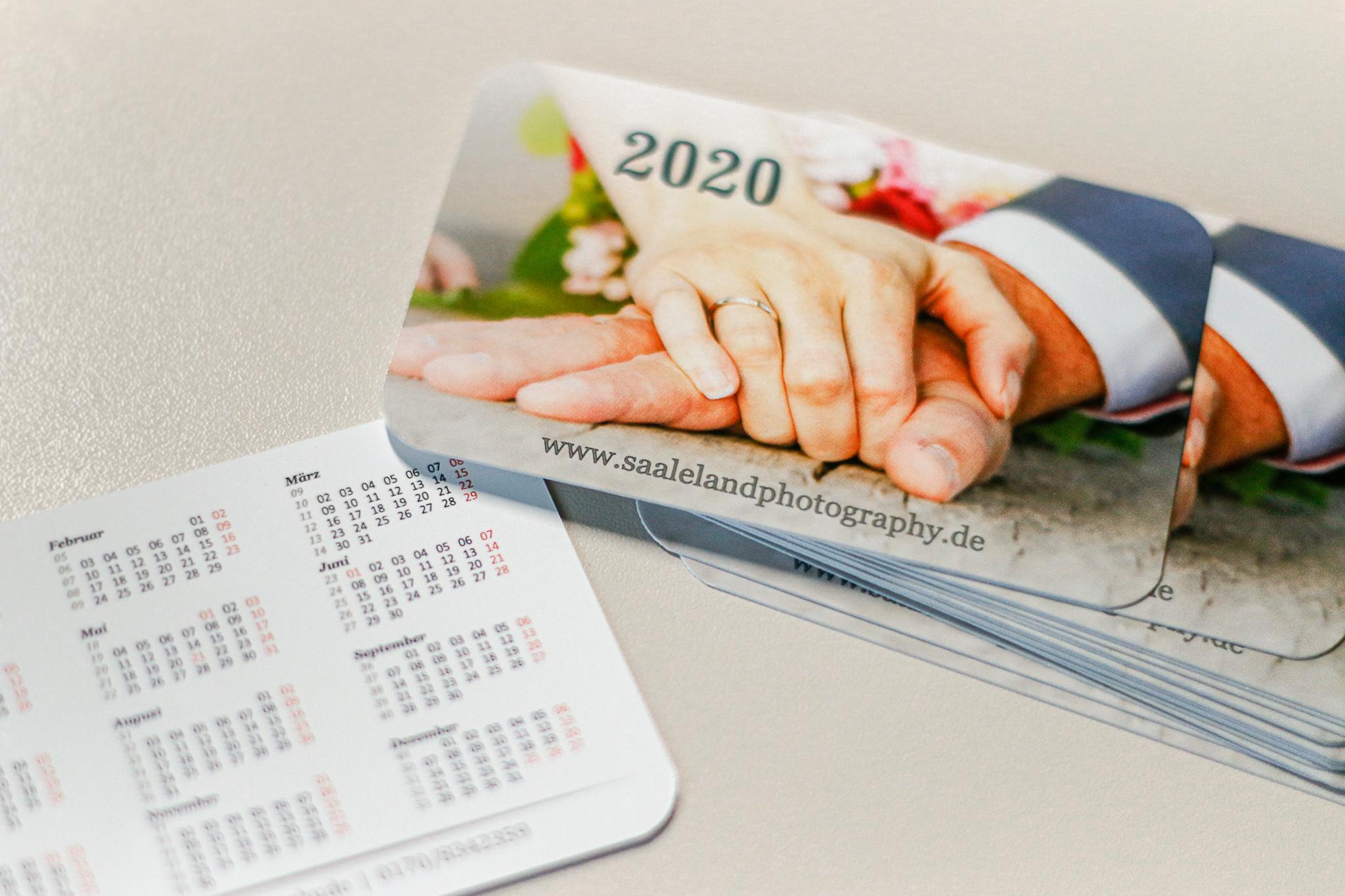 Kalender 2020 - Saaleland-Photography